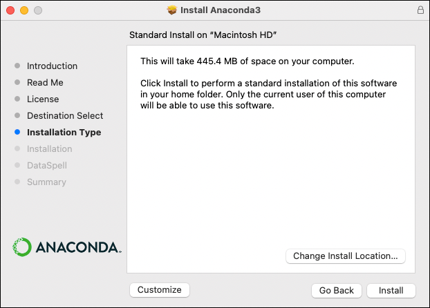 Installing on macOS — Anaconda 2 0 documentation